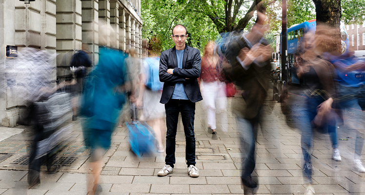 Yuval Noah Harari, Foto Copyright: Daniel Thomas Smith